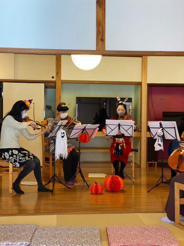 10月31日にハロウィンイベントを開催しました!